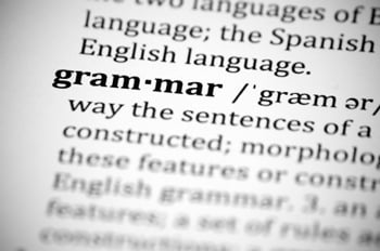 bad grammar is one of the blogging worst practices