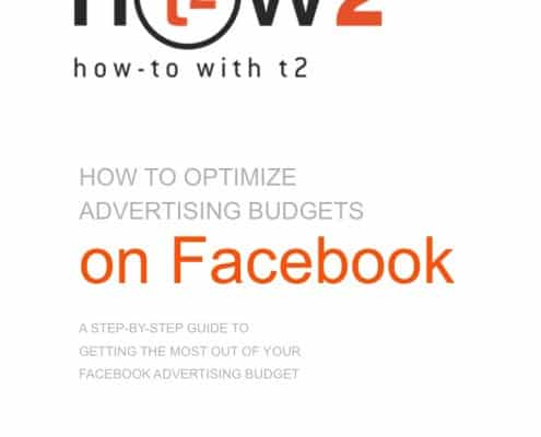 How-to with t2 Optimize Advertising Budgets on Facebook Cover Image