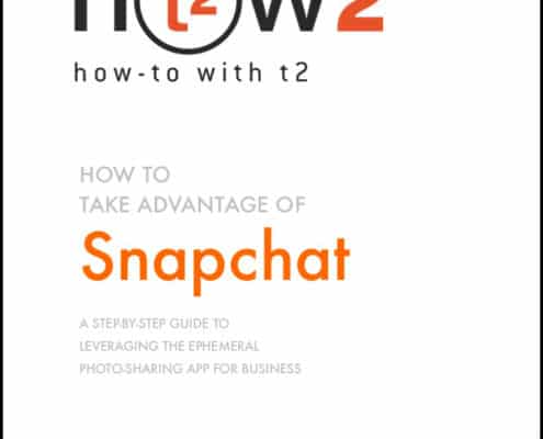 How 2 with t2 - Use Snapchat for Brand Marketing - Cover