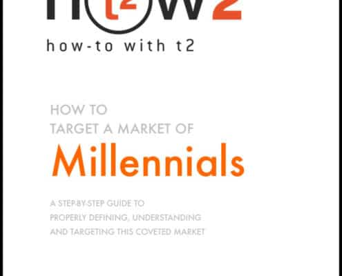 How 2 with t2 - Target the Millennial Market