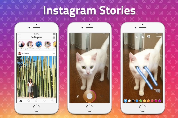 Instachat and Instagram Stories