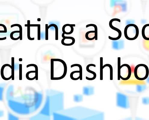 Create Social Media Dashboard