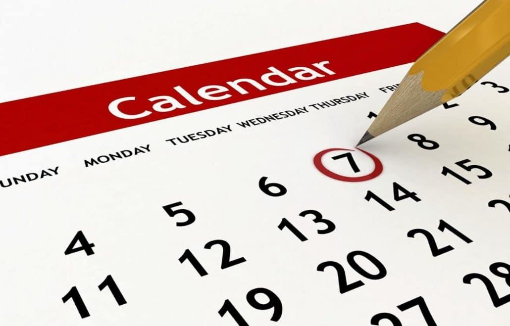 Social Media Time Saving Tips Content Calendar
