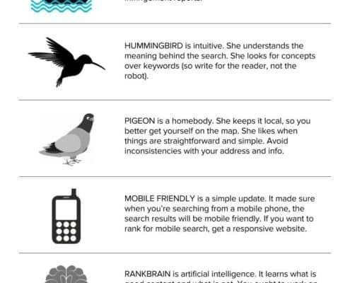 Google algorithm updates explained